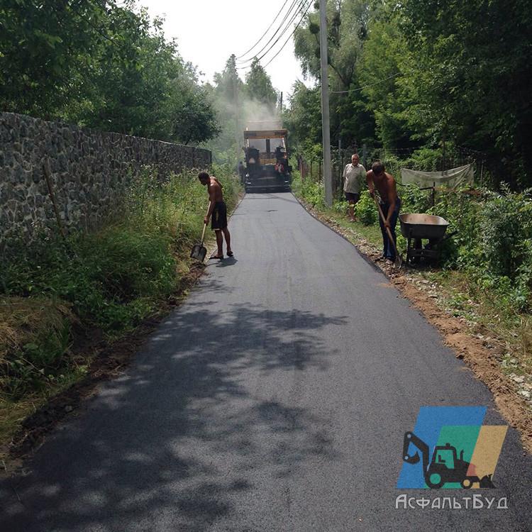 Строительство дорог в дачных, гаражных кооперативах