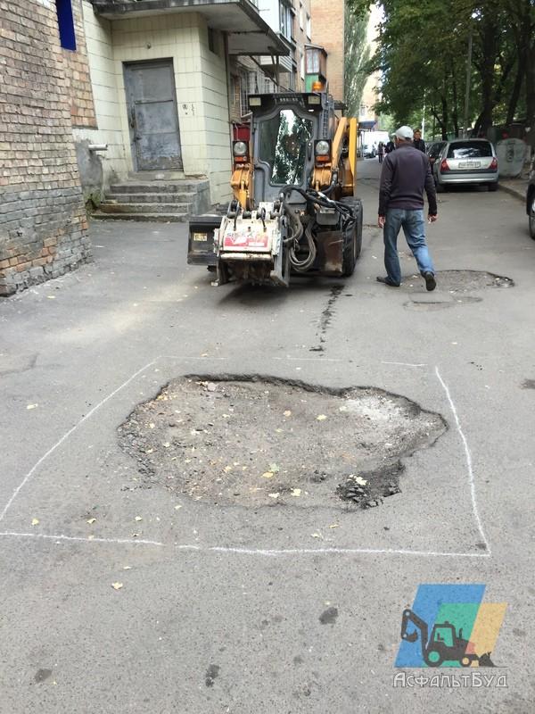 Ремонт дорог, в т.ч. ямочный ремонт асфальтобетонного покрытия