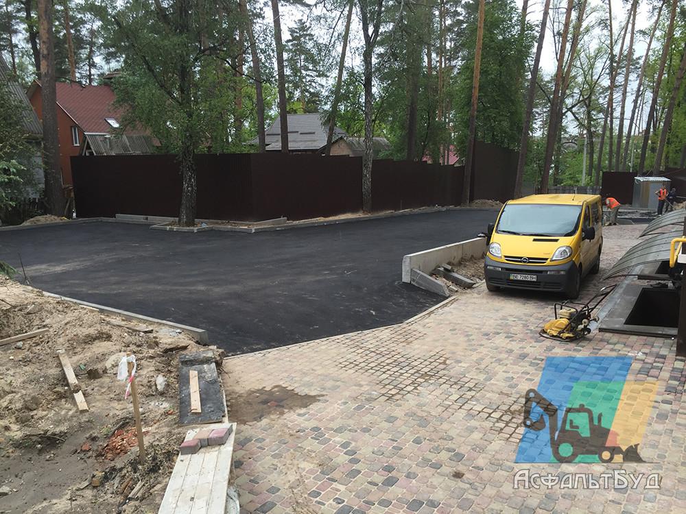 Строительство дорог в частном секторе